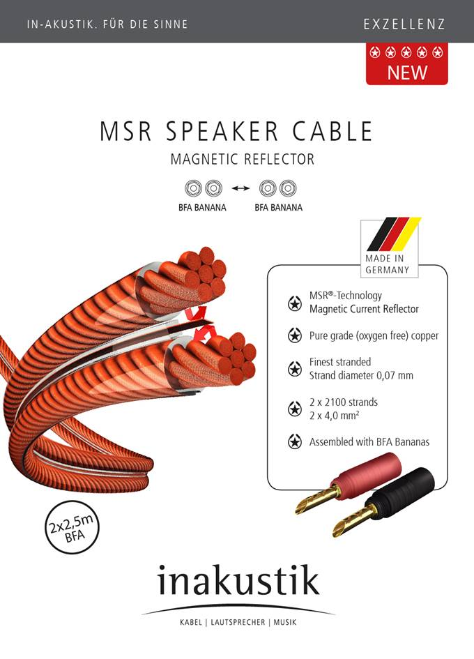 MSR 4 mm2 Speaker cable